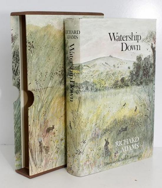 Book Cover Illustrations For Sale : First edition watership down illustrated