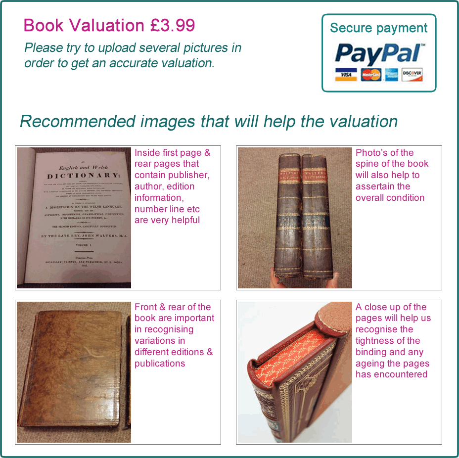Useful images to upload for your book valuation